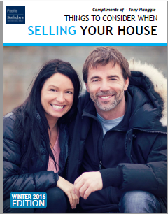 THINGS TO CONSIDER WHEN SELLINGA HOME